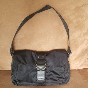 Lauren Ralph Lauren Nylon and Web Purse Bag